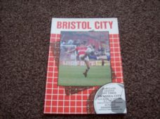 Bristol City v Swansea City, 1988/89